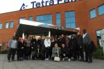 Students visited Tetra Pak